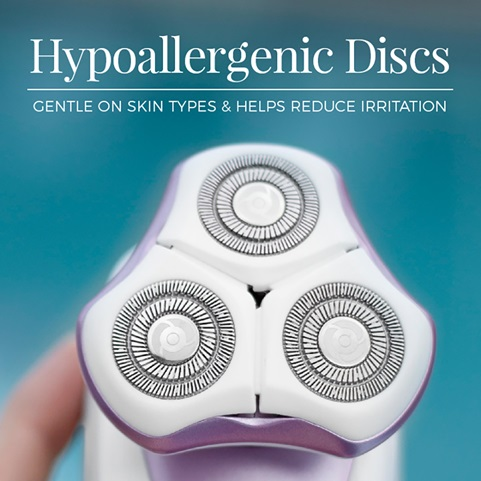 Hypoallergenic discs. Gentle on skin types & helps reduce irritation