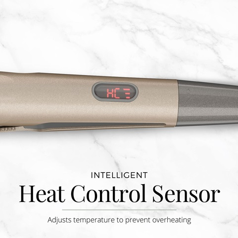 Intelligent Heat Control Sensor adjusts temperature to prevent overheating