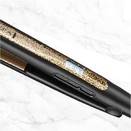 remington s6501 gold glitter flat iron temperature image