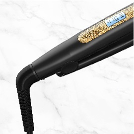 remington s6501 gold glitter flat iron swivel cord image