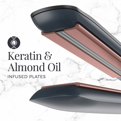 S8598SA Keratin & Almond Oil Infused Plates