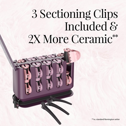 3 sectioning clips included