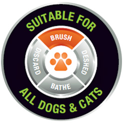 Brush Dual Grooming Wheel