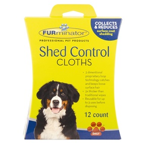 Dog Shed Control Cloths