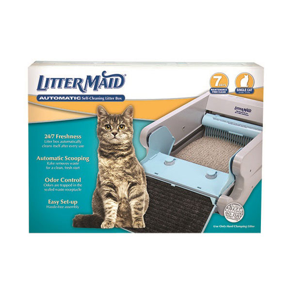 Self Cleaning Litter Box Packaging