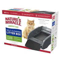 Single Cat Self Cleaning Litter Box