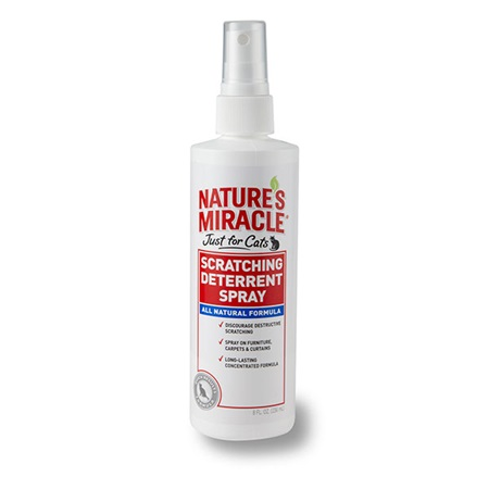 Scratching Deterrent Spray - Just for Cats   Nature's Miracle