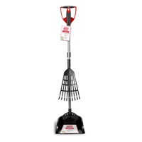 2in1 Rake 'n Spade Waste Pick Up Scoop with Pan