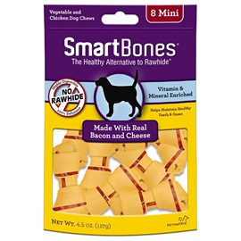 Bacon and Cheese Classic Bone Chews - Mini