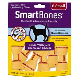 Bacon and Cheese Classic Bone Chews - Small