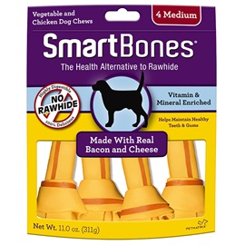 Bacon and Cheese Classic Bone Chews - Medium
