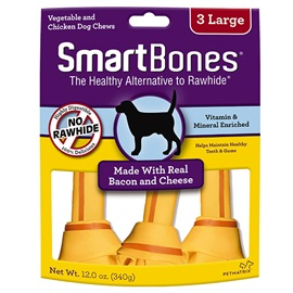 Bacon and Cheese Classic Bone Chews - Large