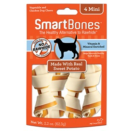 Sweet Potato Classic Bone Chews - Mini