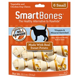 Sweet Potato Classic Bone Chews - Small