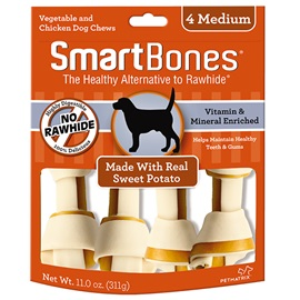 Sweet Potato Classic Bone Chews - Medium