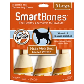 Sweet Potato Classic Bone Chews - Large