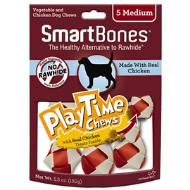 PlayTime Chews Chicken - Medium
