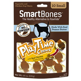 PlayTime Chews Peanut Butter - Small