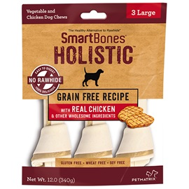 Holistic Chicken Classic Bone Chews - Large