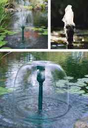 How to make a pond fountain is easy with the pond building guide from Tetra.