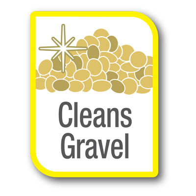 Cleans Gravel Icon