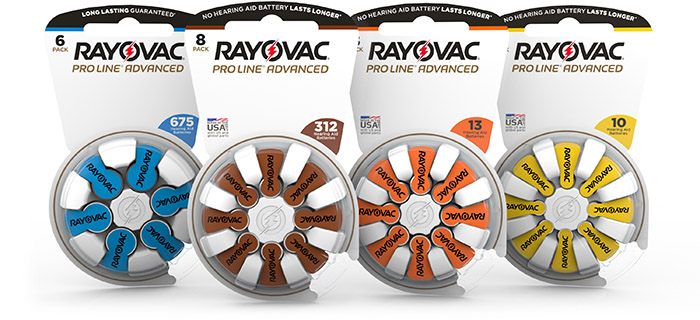 Rayovac ProLine Advanced New Packaging