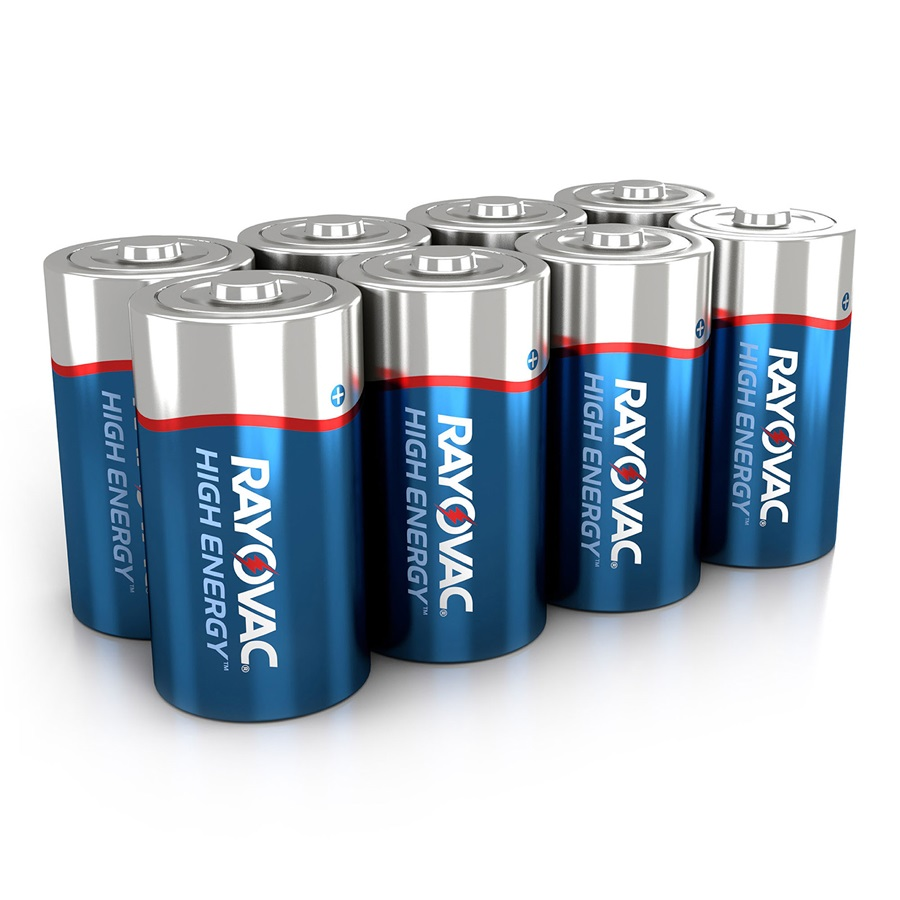 813-8L D 8-Pack HIGH ENERGY™ Alkaline Batteries