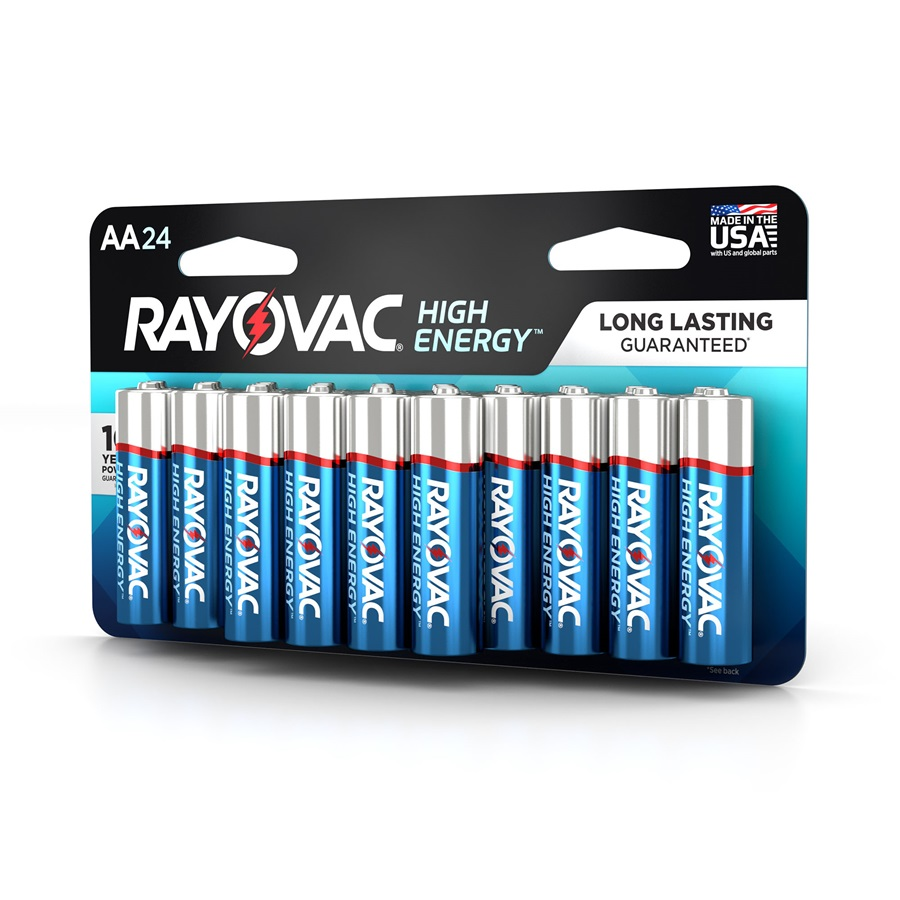 815-24LK AA 24-Pack HIGH ENERGY™ Alkaline Batteries