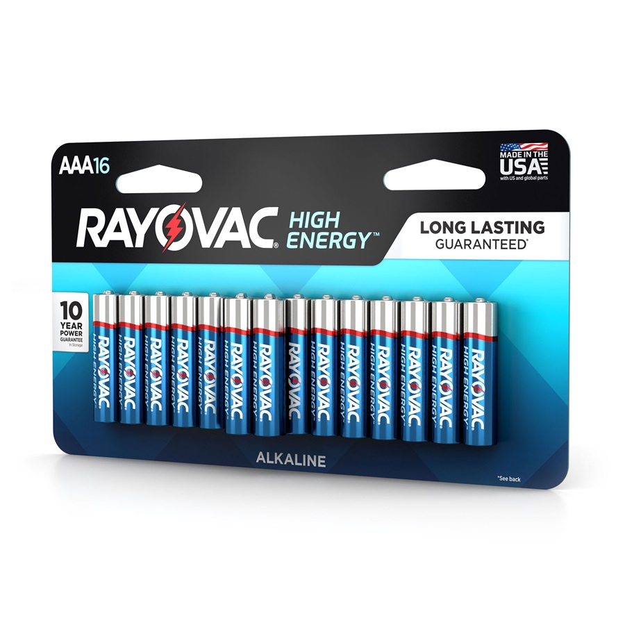 824-16LTK AAA 16-Pack HIGH ENERGY™ Alkaline Batteries