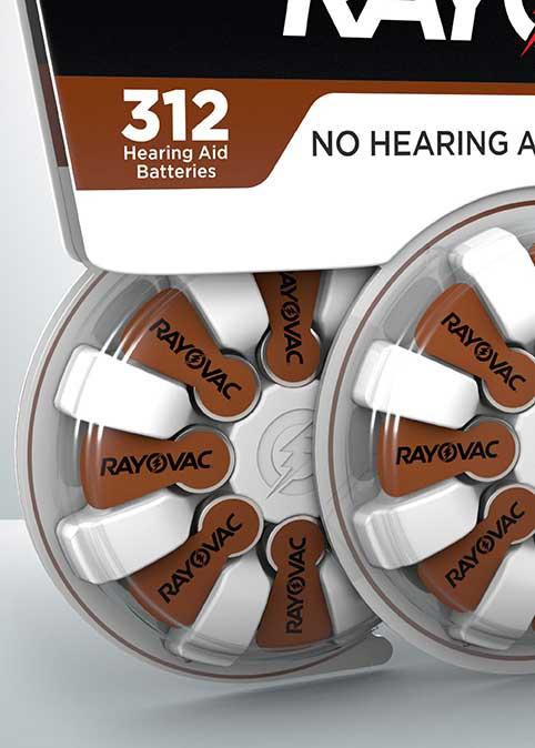 rayovac hearing aid battery size 312 24 pack