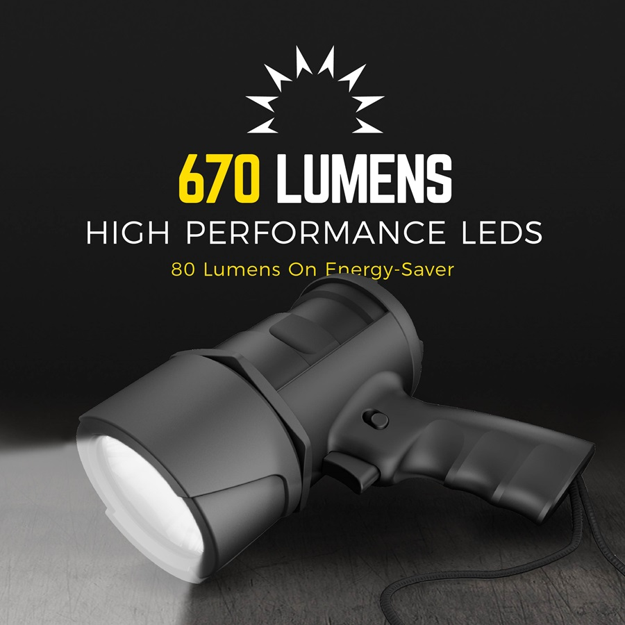 670 Lumens with high performance LEDs DIYSP6AA-BA