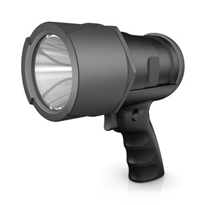 workhorse pro 6AA LED virtually indestructible spotlight DIYSP6AA-BA