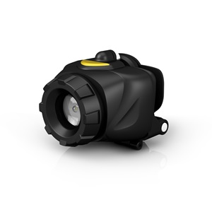 RNHL3AAA-BE RoughNeck™ 3AAA LED Spot to Flood Headlight