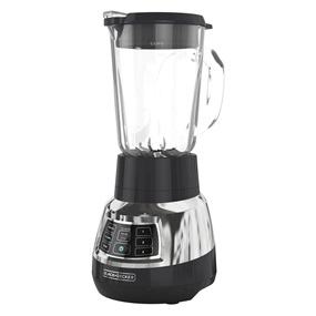 BL1400DG-P Quiet Blender with Cyclone Glass Jar
