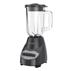 Countertop Blender with 6-Cup Glass Jar, 10-Speed Settings