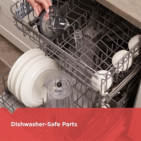 dishwasher-safe parts