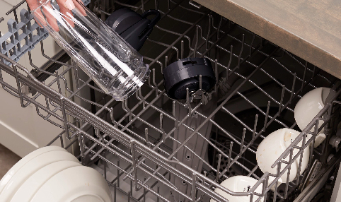 Dishwasher safe removable parts