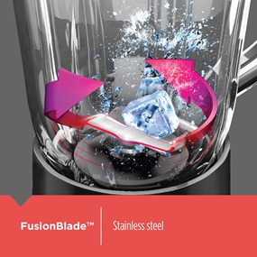 FusionBlade™ is stainless steel