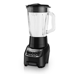 BL1210BG PowerCrush Multi-Function Blender with 6-Cup Glass Jar, Black