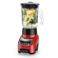 BL1210RG PowerCrush Multi-Function Blender with 6-Cup Glass Jar, Red Blender