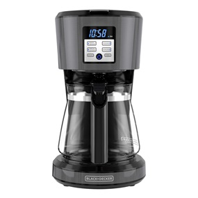 12-Cup Coffeemaker, programmable with vortex technology and premium stainless steel finish, CM1331BS