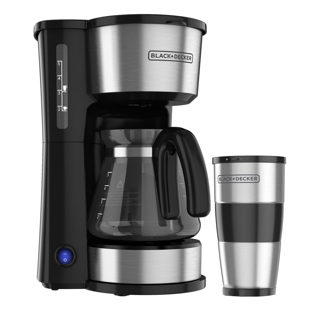 black and decker 5 in 1 coffee maker cm0755s