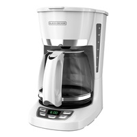 QuickTouch™ Digital Programmable 12-Cup* Coffee Maker, White, CM1060W
