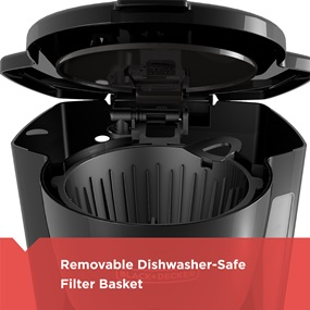 removable filter basket