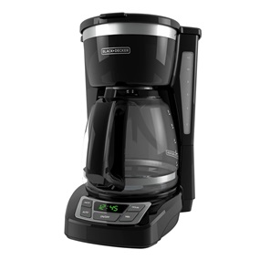 CM1160B 12-Cup Programmable Coffeemaker, Black