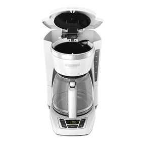 CM1160W 12-Cup Programmable Coffeemaker, White