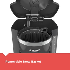 Removable Brew Basket