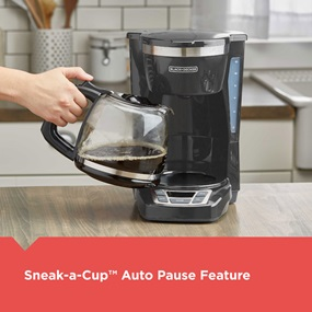 Sneak-a-Cup™ Auto Pause Feature