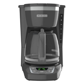 12-Cup* Programmable Coffeemaker, Gray, CM1165GY