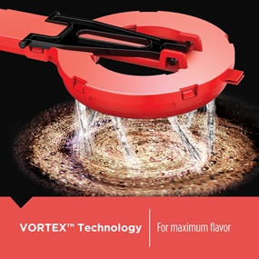 Vortex Technology for maximum flavor